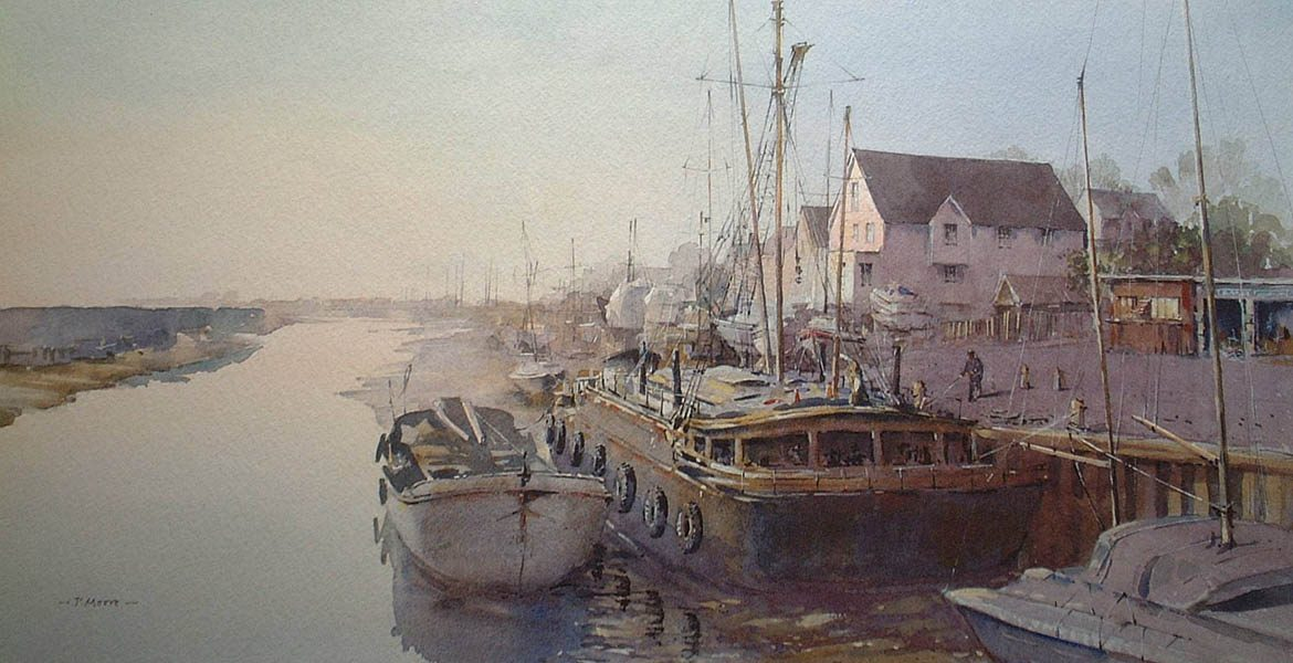 Dawn Light at Maldon - Patsy Moore