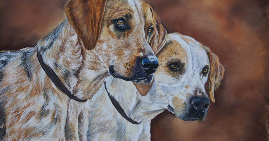 Brace of Hounds - Fiona Champion