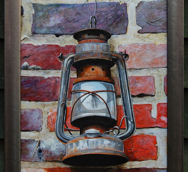 Hurricane Lamp - Derek Golledge