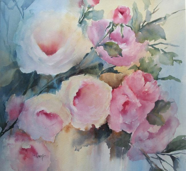 Rose Spray - Caryl Smith