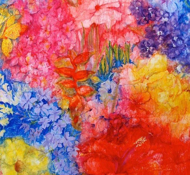 Florida Flowers I - Jenny Bleackley