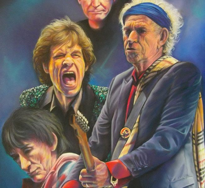 The Stones, Glastonbury - Wendy Standen