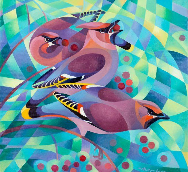 Waxwings - Alison Ingram