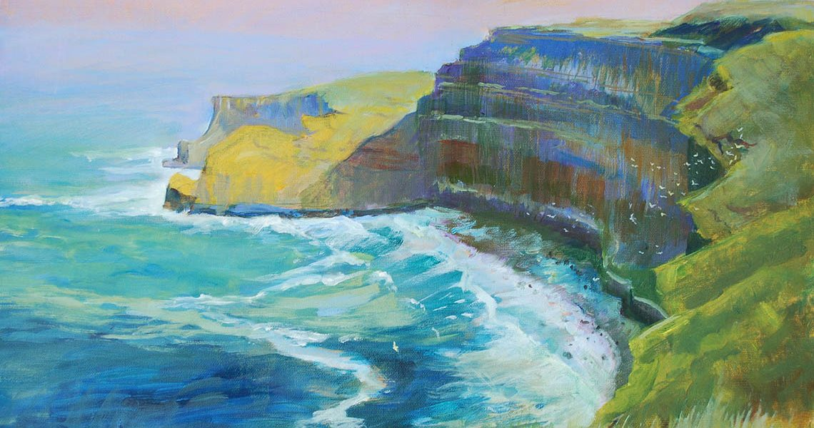 Cliffs of Moher - Mary Faux Jackson