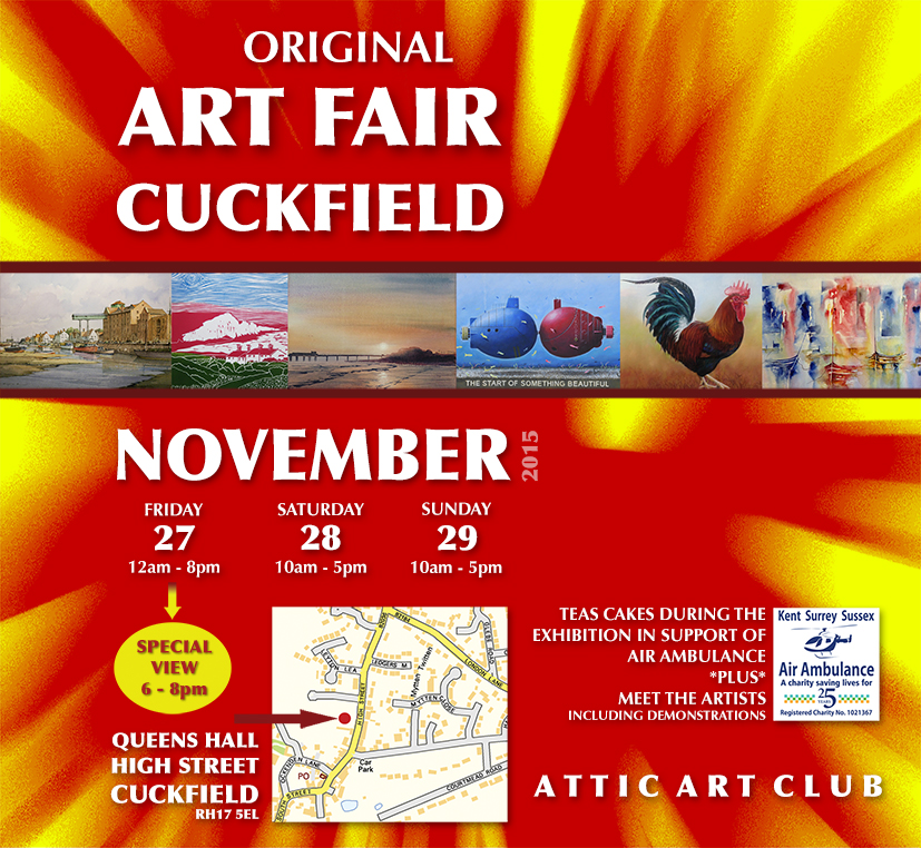 Attic Art Club 2015 poster