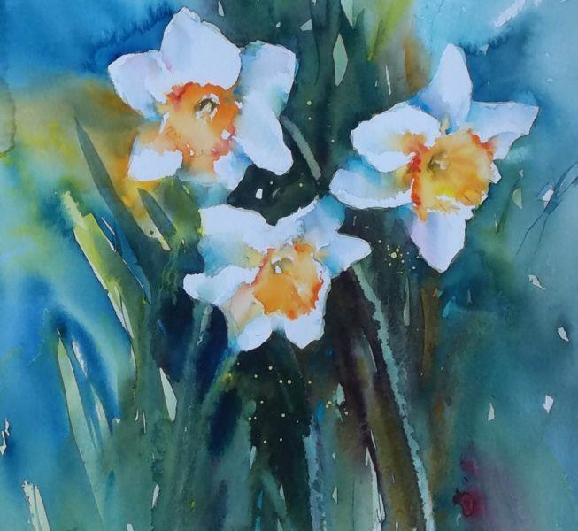 3 Daffs - Heather Withers