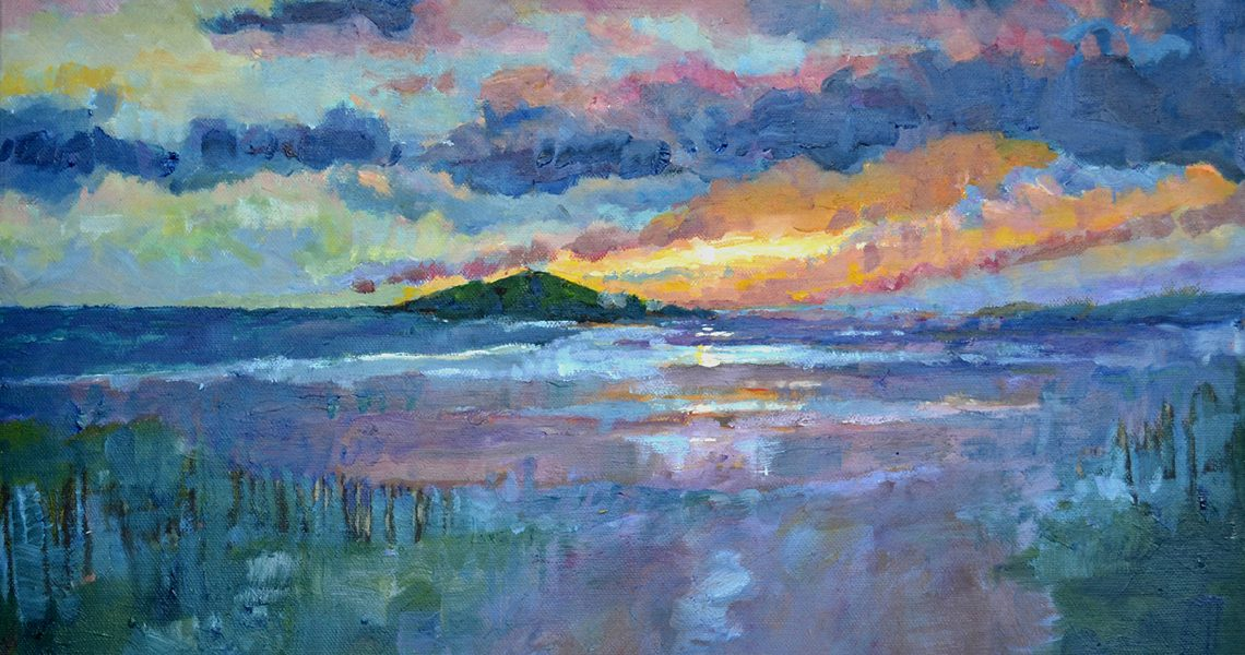 Burgh Island Sunset - Sid Sutton