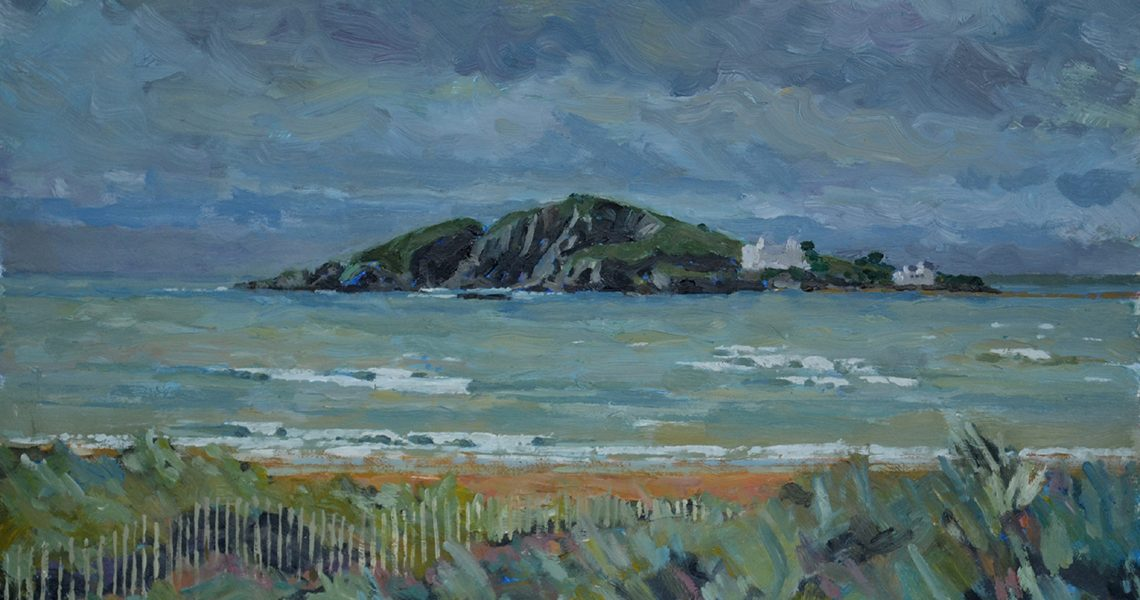 Burgh Island Winter - Sid Sutton