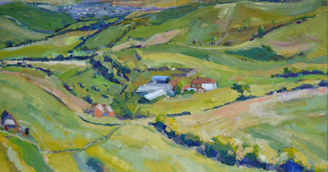 Farm on the Downs - Sid Sutton