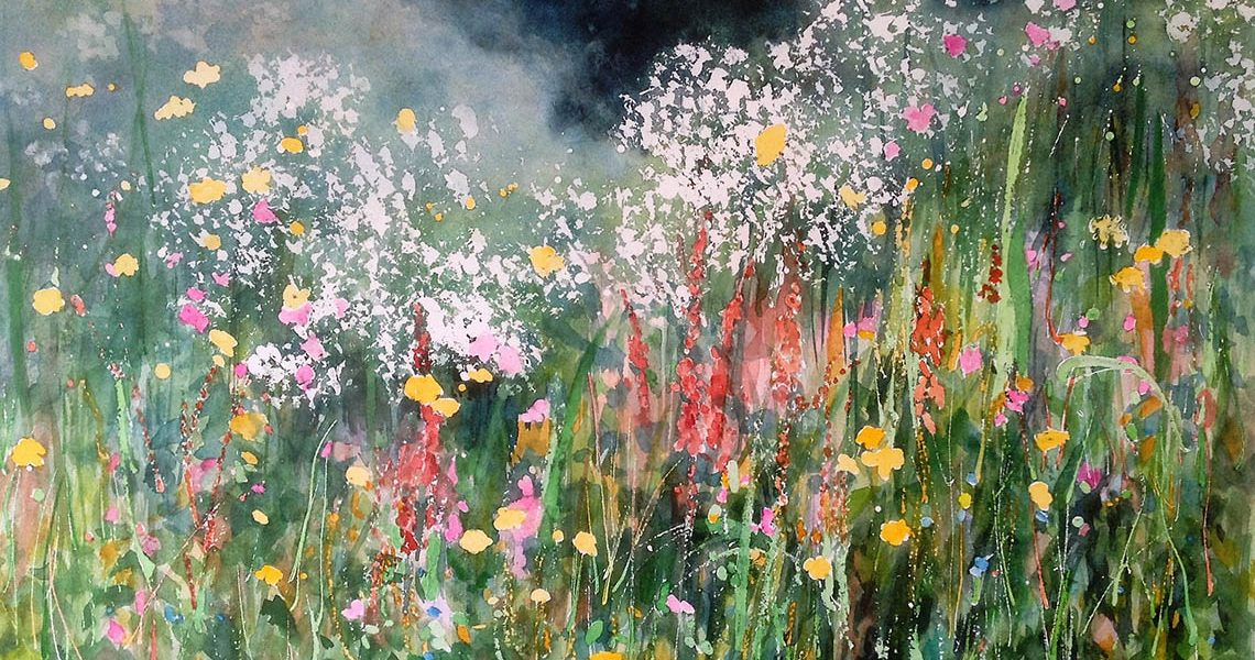 Summer Hedgerow - Jo Hudson
