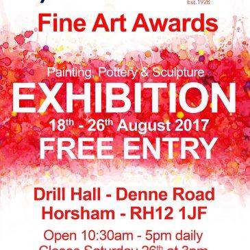 2017 Exhibition Dates Confirmed