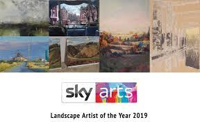 Landscape Artist of the Year 2019 – Patsy Moore Heat Winner!