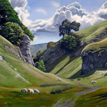 Grazing on The Limestone Way - Paul Talbot